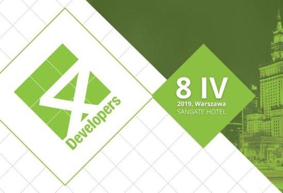 4Developers 2019 – 15% zniżki na bilety dla czytelników bloga kamiladryjanek.com