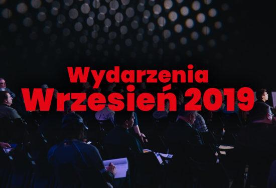 Nadchodzące wydarzenia we wrześniu 2019