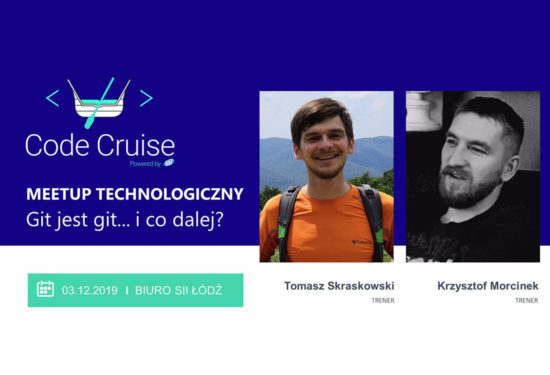 Meetup: Git jest git i co dalej? – 3 grudnia 2019