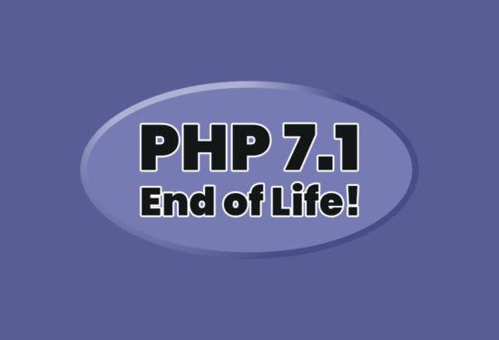 Koniec wsparcia dla PHP 7.1!