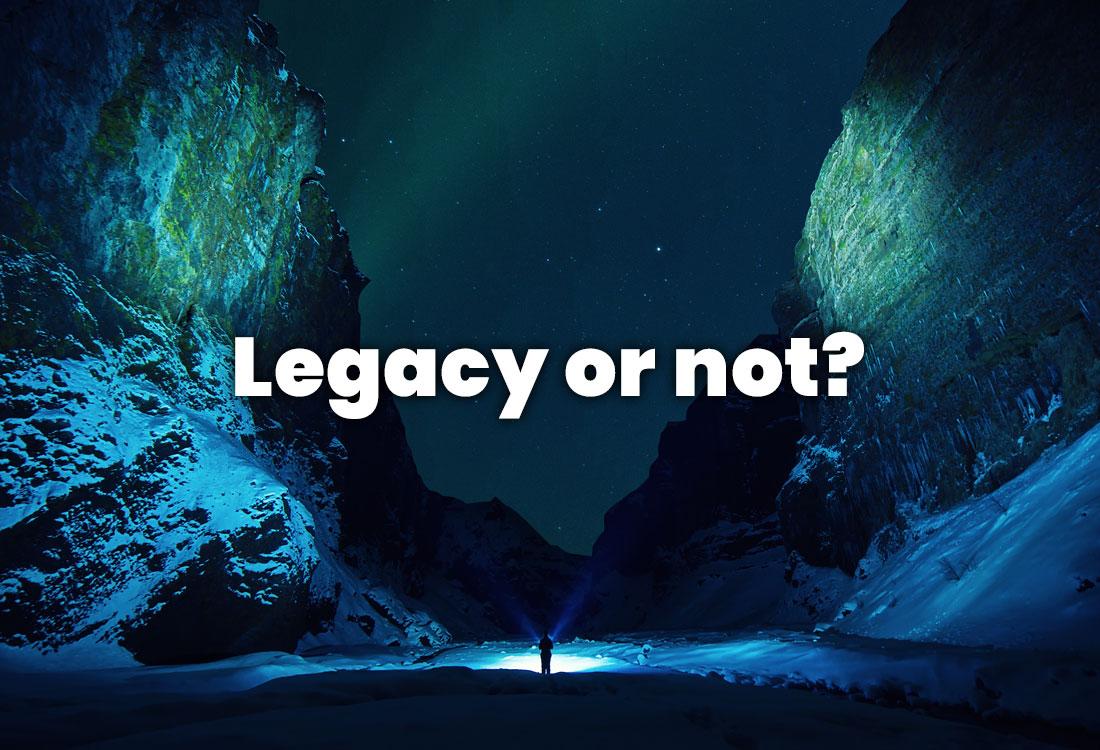 Jak rozpoznać aplikację legacy?